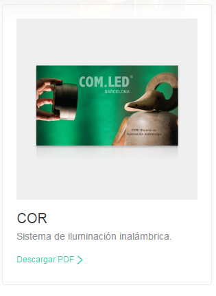 COR Sistema de iluminación inalámbrica.
